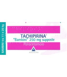 Tachipirina 10 Supposte Bambini 250mg