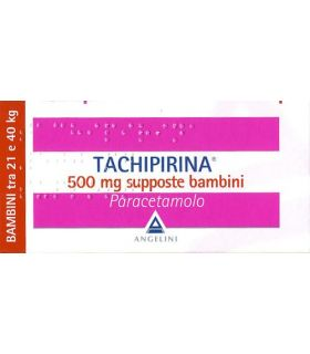 Tachipirina 10 Supposte 500mg