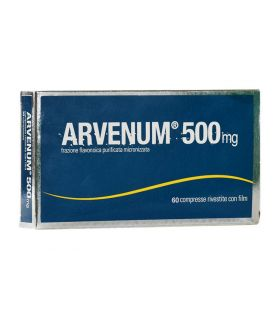 Arvenum 500 Insufficienza venosa 60 Compresse 500mg