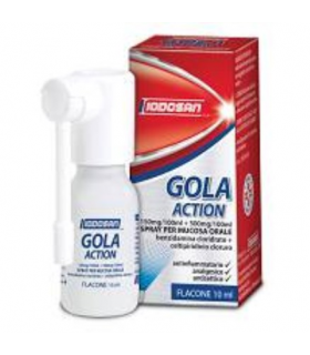 Iodosan Gola Action Spray