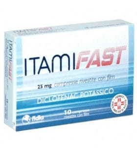 Itamifast 25mg 10 Compresse