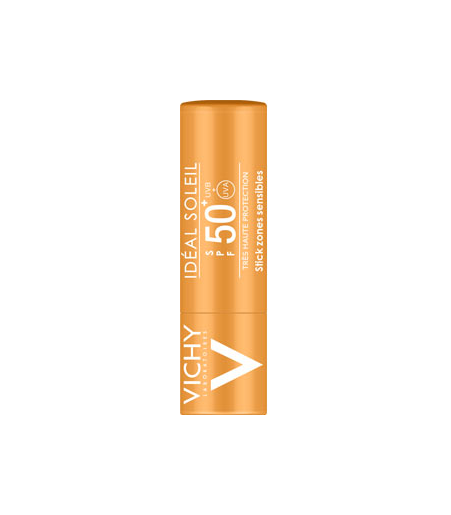 Vichy Ideal Soleil Stick Zone Sensibili Spf50+ 9gr