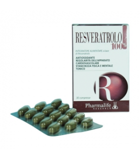 Resveratrolo 100% 30 Compresse