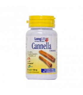 Longlife Cannella 60 Capsule 500mg