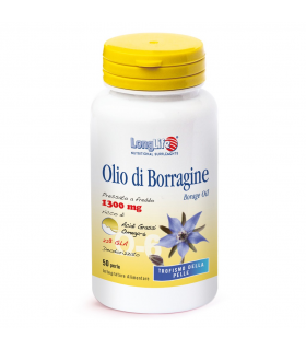 Longlife Olio Di Borragine 50 Perle 1300mg