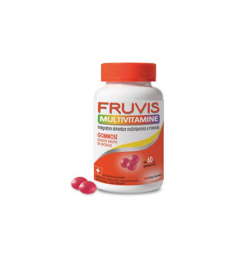 Fruvis Caramelle Gommose 60pezzi