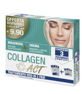 Collagen Act Trattamento Viso In 2 Fasi