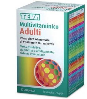 Multivitaminico Adulti Teva 30 Compresse