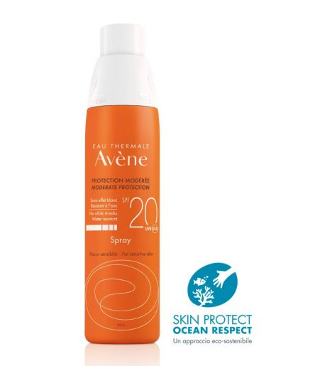 Avene Sol Spray Solare Spf20 200ml