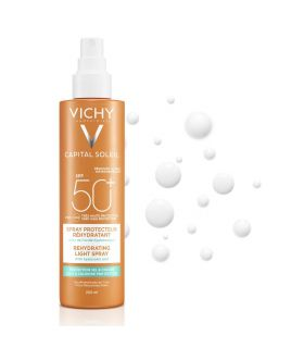 Vichy Capital Soleil Beach Protect Spray Solare Spf50+ 200ml