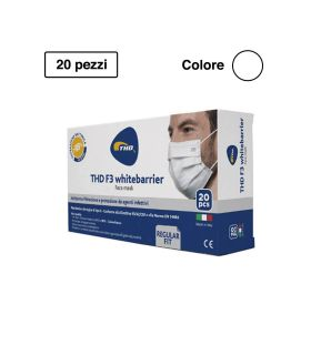 Thd Face Mask Mascherina Chirurgica Whitebarrier Multi Regular 20 pezzi